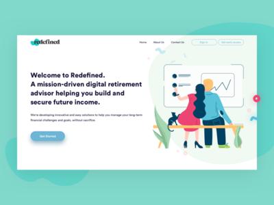 Retirement Planning Platform Design