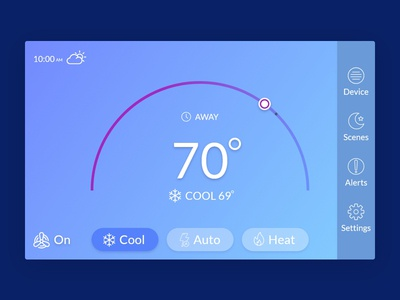 Thermostat Interface Design