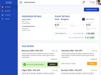 Flight Ticket Booking Web Application