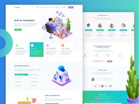 StartP - IT Solutions, Software and SaaS Template