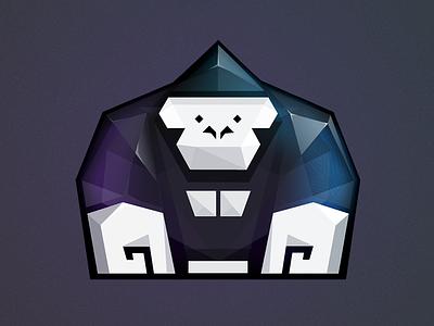 Crystal Gorilla crystal gorilla