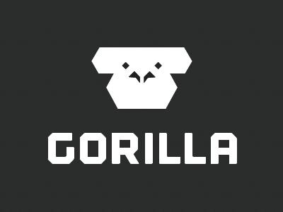 Gorilla Face gorilla minimal face