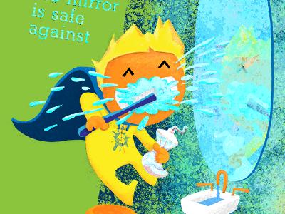 The Spatterer illustration toothpaste