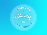 Dribbble Invite!!