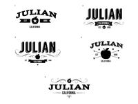 Tourism Logo - Julian, Ca