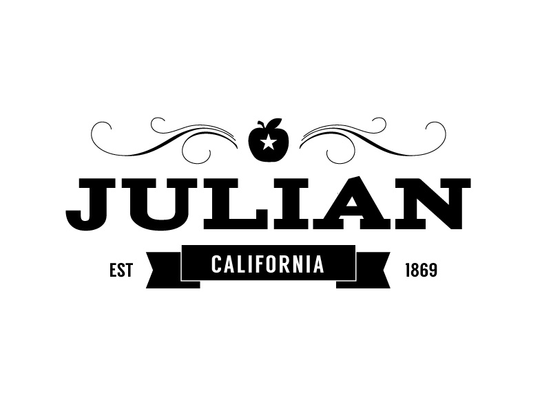 julian tourism logo - iteration by morgan seibert