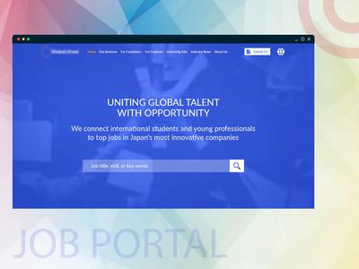 Job Portal Layout