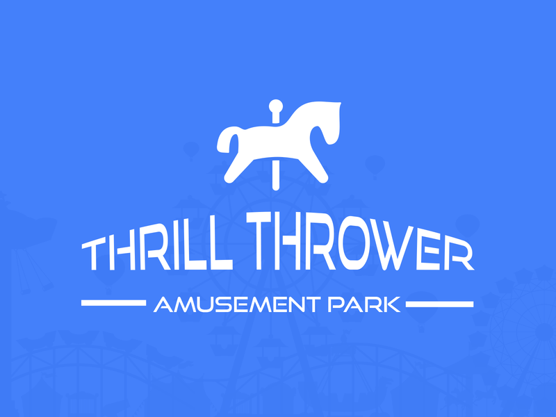 Amusement Park Identity vector graphic design brand design brand identity logo amusement park