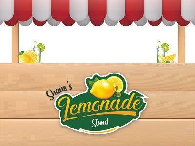 Brand identity for a lemonade stand brand identity logo concept creative logo logo