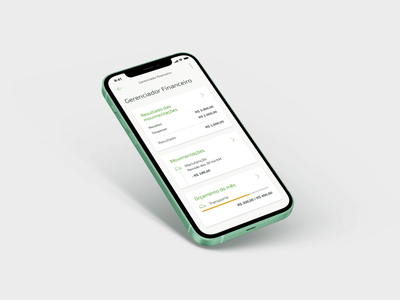 PFM Sicredi interface visual ai ux design