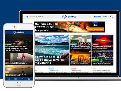 Sulinfoco ia design responsive app news portal