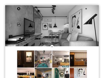 Almeida Arquitetos ui user interface design art direction