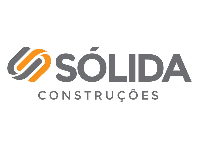Sólida Construções logo id design branding brand