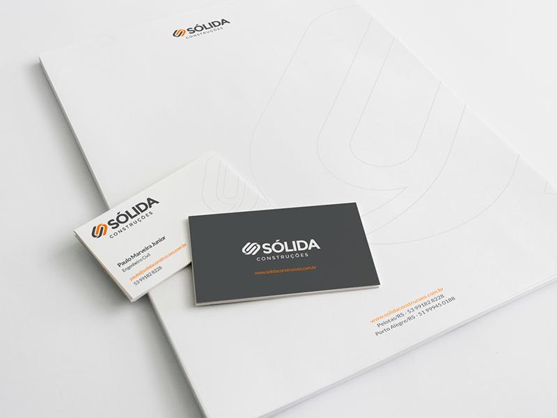 Sólida Construções id design branding brand