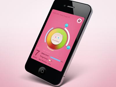 Menstruation大姨妈app 大姨妈 menstruation app pink 粉红 soft