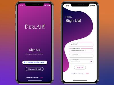 Daily UI Sign Up 001 app ux ui