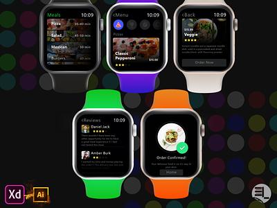 meals on wheels dailyui ui ux design mobile ui mobile uidesign delivery app restaurant food app food