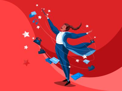 Brand Illustration for MaestroQA