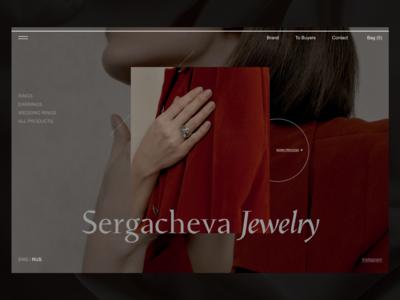 Sergacheva Jewelry / Concept #1