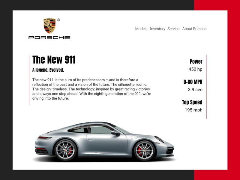 Porsche 911 Concept/Exploration