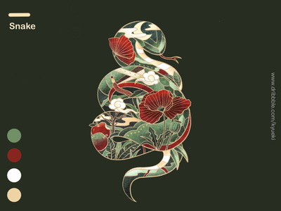 12 Symbolic Animals-Snake