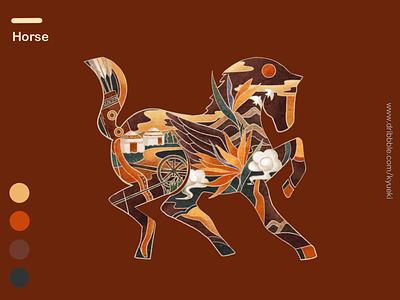 12 Symbolic Animals-Horse