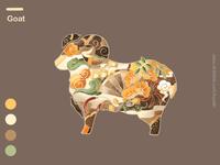 12 Symbolic Animals-Goat