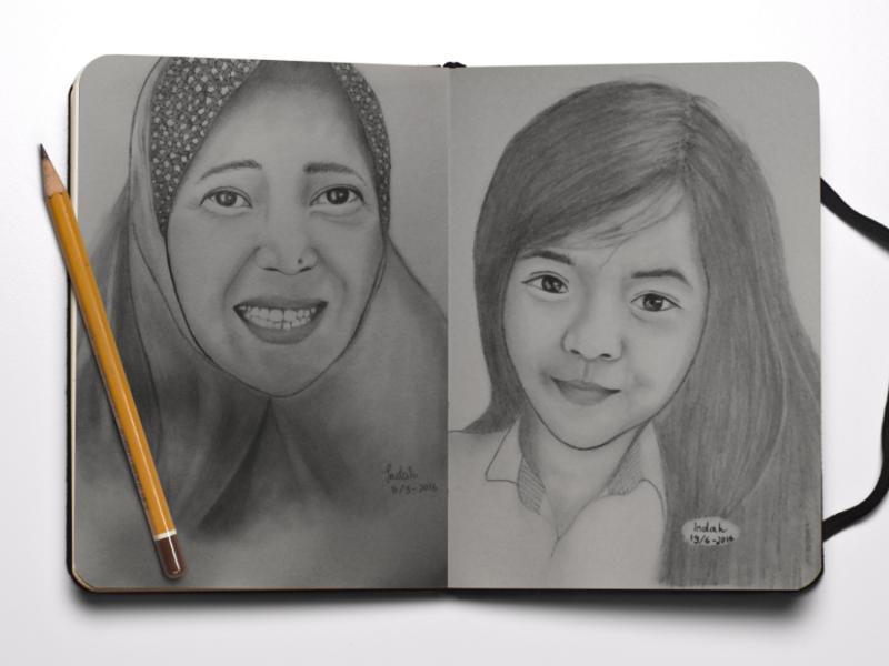Realistic Human Sketches realistic drawing pencil drawing art design illustration pencil sketch sketch