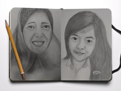 Realistic Human Sketches