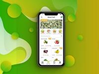 Pasar Tani mobile ui app