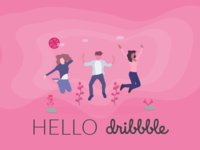 My Debut on Dribbble