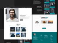 Personal Portfolio UI Design