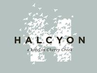 Halcyon Hotel Identity
