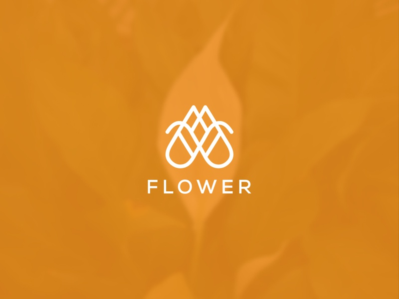 Flower Logo Design icon vector creative logodesign flower