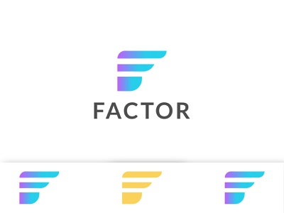 FACTOR BARND LOGO logodesign template f logo creative logotype