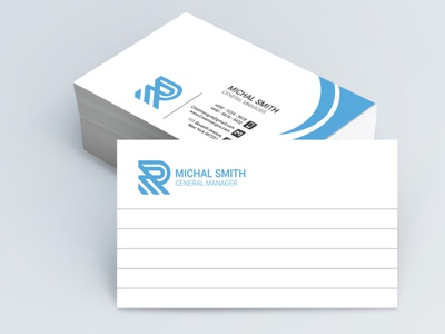 Businesscard unique icon logo design creative vector business template businesscard