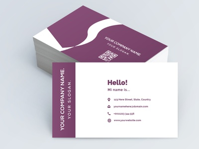 Professional business card design business logo vector design temple creative template professional business card
