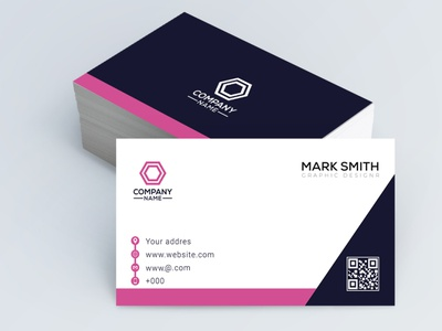 modern business card design professional business card logo creative mockup template businesscard modern