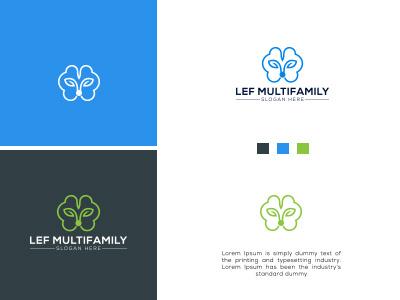 FEL MULTIFAMILY BRAND LOGO logotemplate logodesign brand identity creative logo creative design