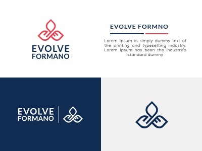 EVOLVE FORMANO LOGO BAND icon logo creative design brand identity