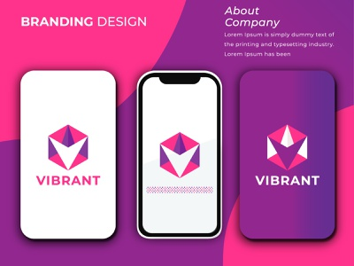 VIBRANT LOGO 01 01 logobrand logodesign creative