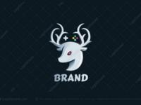 Deer Games Logo for sale