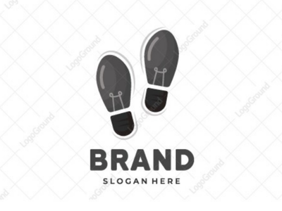 Idea Steps Logo outdoors travelling branding logos logo education imprint print foot feet footprint smart bulb light lightbulb shoes steps ideas