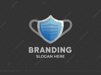 Shield Mask Logo branding logos logo protective doctor medical covid-19 covid corona safe safety protection virus mask shield