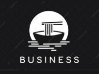 Noodles boat logo for sale