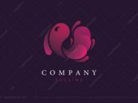 Beautiful fish logo for sale