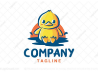 Cute duckling logo for sale