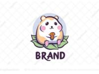 Chubby hamster logo for sale