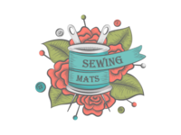 Sold logo for a sewing business