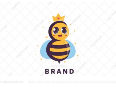 Queen Bee logo for sale